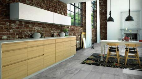 30x60 aspect carreau ciment sol et mur