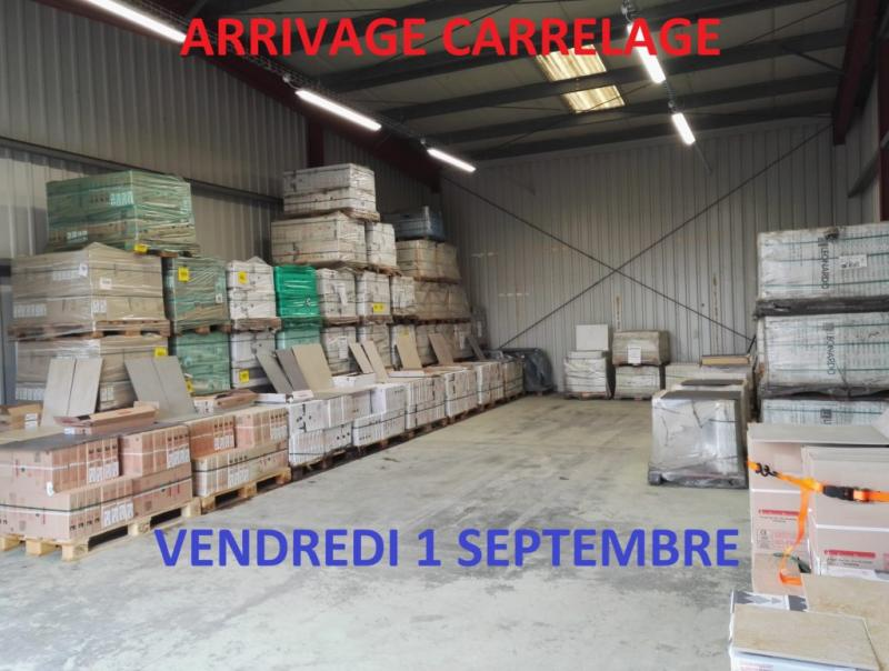 Arrivage carrelage Metz