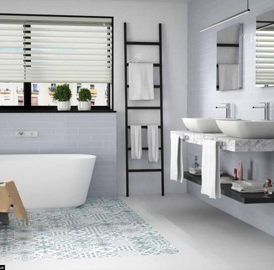15x15 effet carreaux de ciment vintage carrelage metz 57. Black Bedroom Furniture Sets. Home Design Ideas